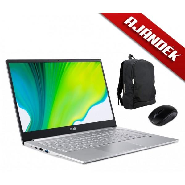 ACER SWIFT 3 Ultrabook SF314-42-R11C + Ajándék Acer Starter Kit egér és táska