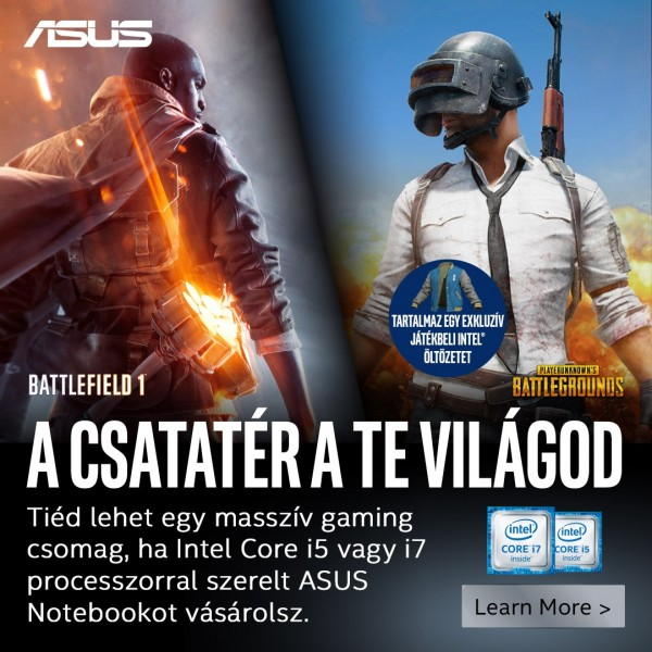 Intel® Game eSport szoftvercsomag (M-Rated) – ajándék