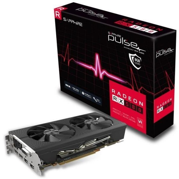 Sapphire Pulse Radeon RX 580 8 GB GDDR5