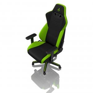 Gamer szék Nitro Concepts S300 Atomic Green - Fekete/Zöld