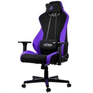 Gamer szék Nitro Concepts S300 Nebula Purple - Fekete/Lila