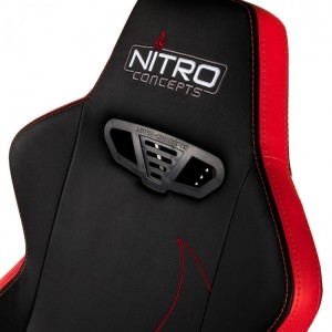 Gamer szék Nitro Concepts S300 EX Inferno Red - Fekete/Piros