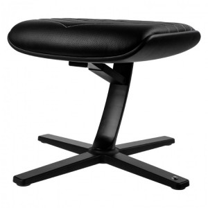 Gamer szék kiegészítő Noblechairs ICON lábtartó Fekete/Platinafehér