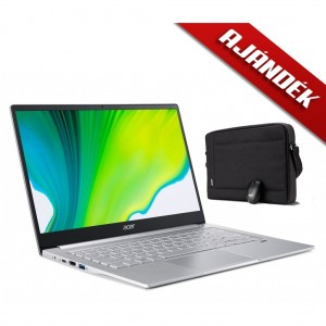Acer Swift 3 Ultrabook SF314-42-R77K + Windows 10 Home + Ajándék Acer Starter Kit oldaltáska és vezetékes egér