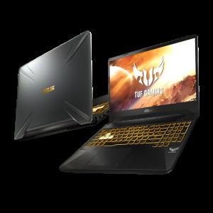 ASUS ROG TUF FX505DU - 16GB RAM - 1000GB SSD + 1000GB HDD + Ajándék Zalman HPS 300 fejhallgató + 30 napos pixelgarancia