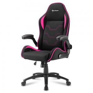 Sharkoon Elbrus 1 Gaming Chair Black/Pink