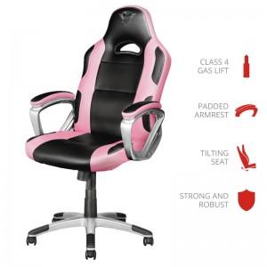 Trust GXT 705 Ryon Gaming Chair Black/Pink