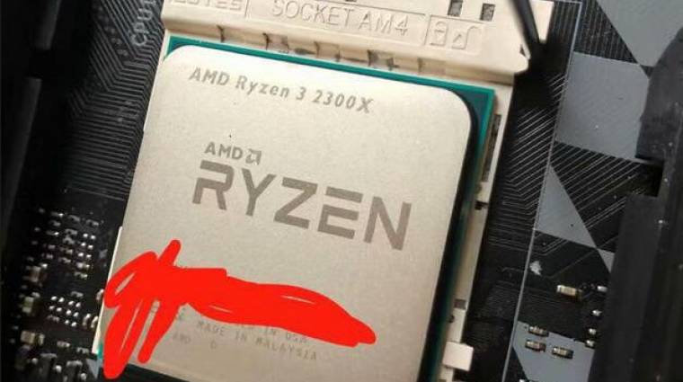Radium Friss: BREAKING! AMD Ryzen 3 2300X úgy fest, nemrégiben felbukkanni látszott!