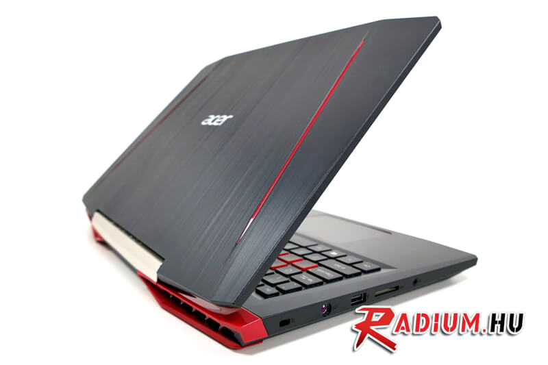 Acer VX15 Ti - Igazán szép gamer laptop, amely már az erősebb Geforce 1050Ti kártyával van felszerelve