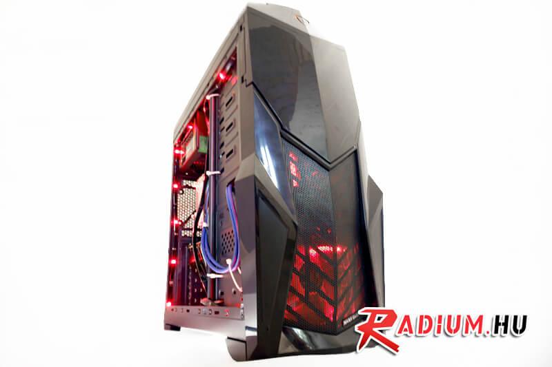 Radium THUNDER GTR Plusz: Játékos asztali számítógép megfizethető áron? Úgy van!