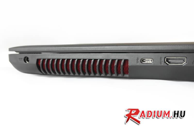 Asus GL552VX: A GL széria legjobb áron levő modelljét teszteltük, melynek egy 25 000Ft értékű ajándék ROG hátizsák is a tartozéka.