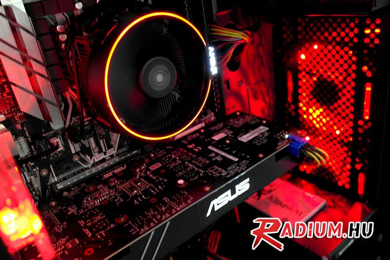 RADIUM AURORA XT AMD: Az AMD most csúnyán feladja a leckét az Intel elitjének