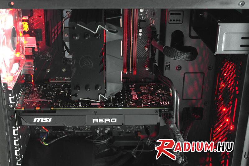 Új teszt: Bemutatkozik a Radium Aurora XT-R nagyteljesítményű 8. generációs gamer PC-nk!