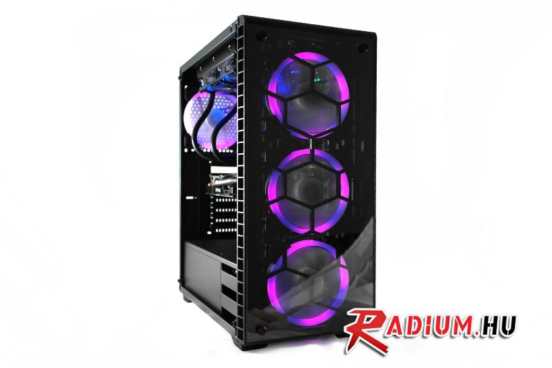 Radium STORM XT: A Radium vadonatúj gamer PC-je nem teketóriázik, viharként temet maga alá minden mást